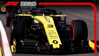 F1 2019-  RISE UP AGAINST YOUR RIVALS