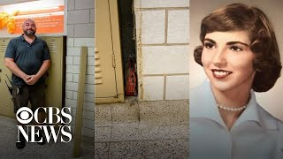 Purse lost in 1957 found behind school locker 62 years later