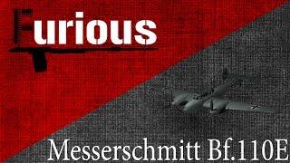 Messerschmitt Bf.110E.