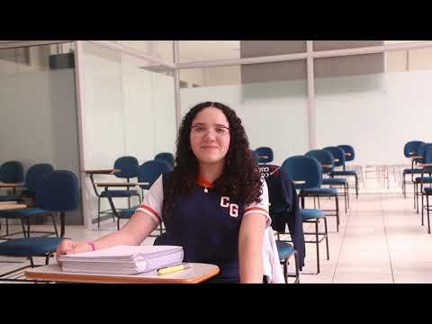 Amanda Galdino, aluna do 8° ano