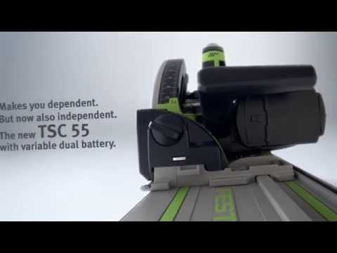 Festool TSC55Li REB-Basic 18v Cordless Plunge Saw Body Only 201395