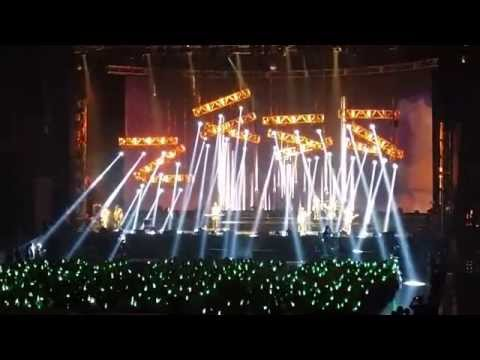 你在煩惱什麼 相信 - 蘇打綠 10週年世界巡迴演唱會 台北場 140706 空氣中的視聽與幻覺」