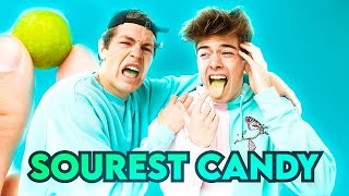 "EATING THE WORLD""S MOST SOUREST CANDY!!! 