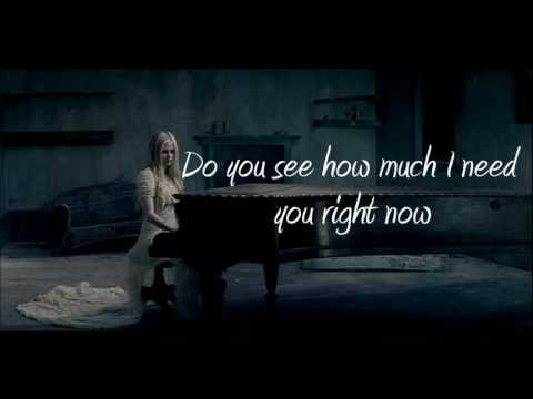 Avril Lavigne - When You're Gone (with lyrics) HD