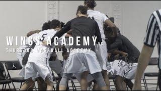 Wings Academy Highlights vs Thurgood Marshall Academy