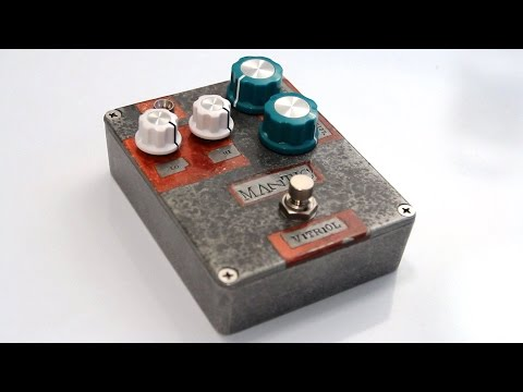 Mantic Effects Vitriol Distortion Pedal