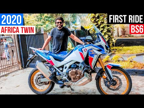 video Honda Africa Twin