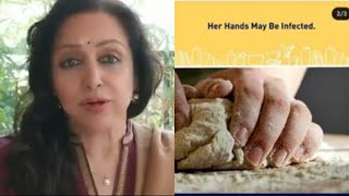 Hema Malini BREAKS silence on the controversial atta maker..