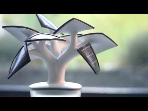 Bonsai solar (para cargar el móvil)