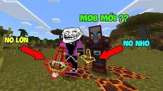 5 Thứ Thú Vị Đã Được Thêm Vào Minecraft PE 1.9 (BE) - Kẻ Cướp Dân Làng !!