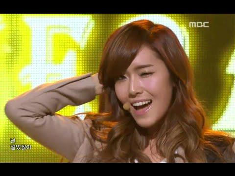 Girls' Generation SNSD - The Boys 소녀시대 - 더 보이즈 Music Core 20111210