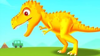 Jurassic Dig Kids Games - Fun Baby Find Dinosaur Bones With Cute Dino Vehicles