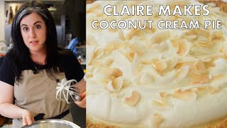 Claire Makes Coconut Cream Pie with Four Kinds of Coconut | From the Test Kitchen | Bon Appetit