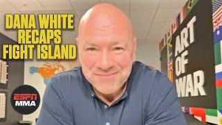 Dana White recaps UFC's time on Fight Island | ESPN MMA