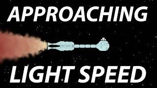 Interstellar Travel: Approaching Light Speed