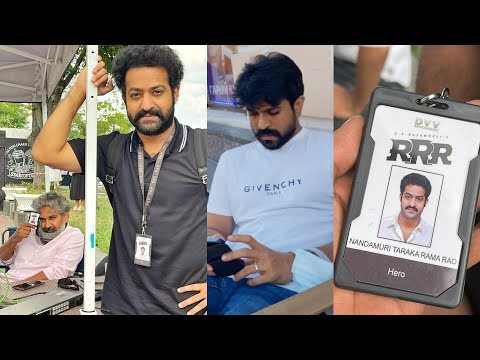 RRR: Jr NTR shows his first ever ID card on the film set, Ram Charan also seen