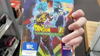 Dragon Ball Super Broly Movie Best Buy Steelbook Hunt