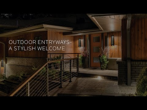 Kichler Outdoor Entryways - A Stylish Welcome
