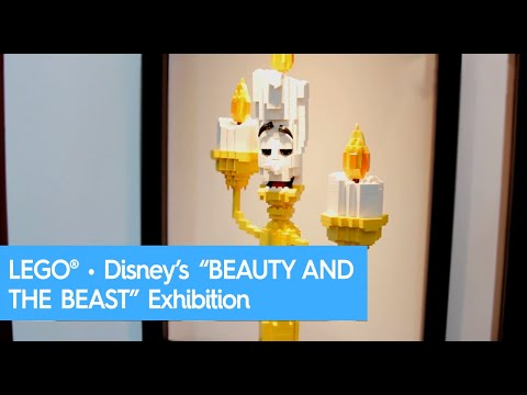 "LEGO® • Disney's ""BEAUTY AND THE BEAST"" Exhibition 