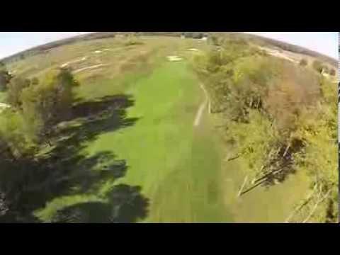 Purgatory Golf Club - Hole 4 Flyover