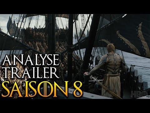 Analyse Trailer Saison 8 Game of Thrones