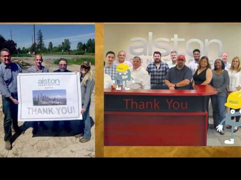 Alston Construction Celebrates 30th Anniversary
