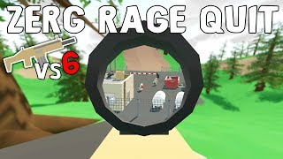 I MADE A 6-MAN CLAN RAGE QUIT THE SERVER! - Unturned Vanilla