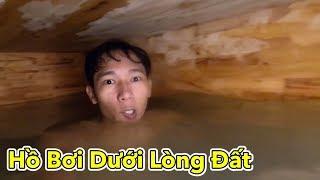 Lamtv - Thử Làm Hồ Bơi Dưới Lòng Đất | Build Most Secret Underground Swimming Pool