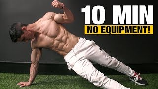 10 MIN Home Workout (NO EQUIPMENT NEEDED!)