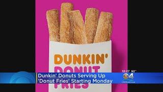 Dunkin' Donuts New Menu Item
