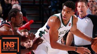 Milwaukee Bucks vs Portland Trail Blazers Full Game Highlights   11.06.2018, NBA Season
