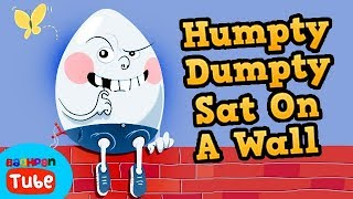 Humpty Dumpty Sat On A Wall | English Nursery Rhymes For Kids | Nursery Rhyme Songs | Bachpan Tube