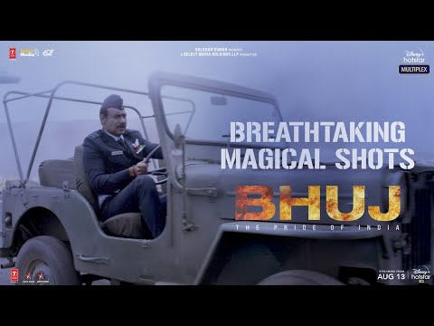 Breathtaking magical scenes from Bhuj: The Pride of India – Ajay Devgn