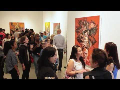 Agora Gallery Opening Reception - July 6th, 2017