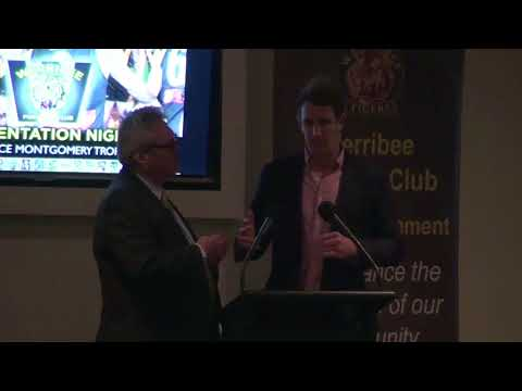 2017 Presentation Night: Michael Barlow Q&A