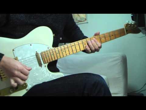A Tout Le Monde -  Guitar Solo Cover / Marty Friedman  ( Megadeth )