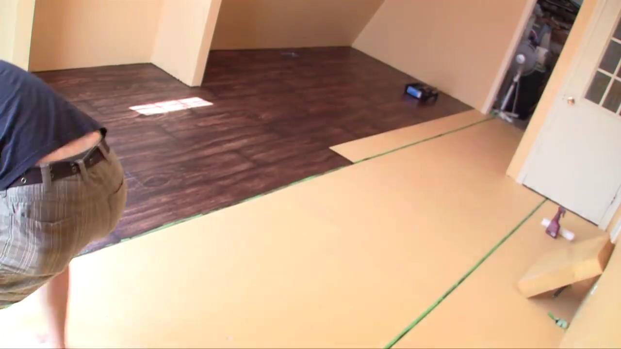 Time Lapse Painting Quot Faux Wood Floors Quot Youtube