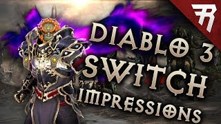 Diablo 3 Eternal Collection Nintendo Switch Impressions & Gameplay