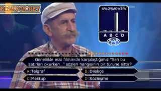 Kim Milyoner Olmak Ister 247. bölüm Hasan Güler 02.07.2013
