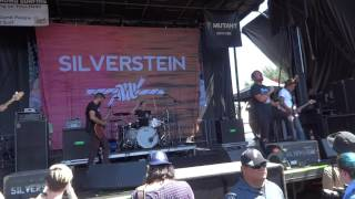 """Silverstein """"Stand Amid The Roar"""" AT&T Center 7-29/17 (1)"""