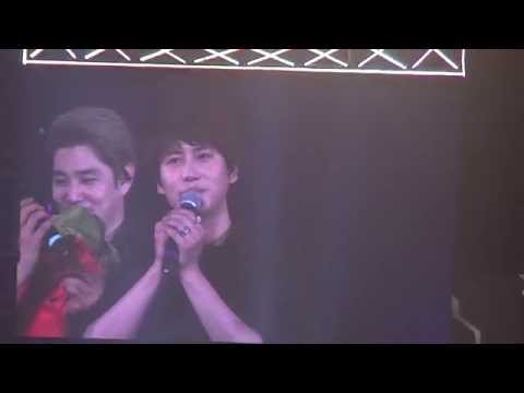141129-super show 6 in Taiwan-幸福嗎?開心嗎?talking