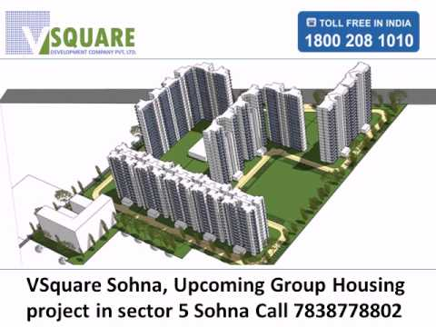 Vsquare Sohna @7838778802 Vsquare new project in sector 5 sohna