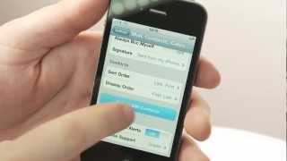 Transferring Contacts from an old phone to your iPhone