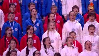 Winter Olympics 2014 Closing Anthem Russian Federation