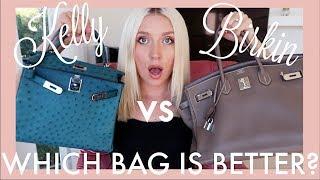 HERMES Birkin vs Kelly   WHICH BAG IS BETTER?