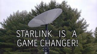 Starlink has arrived!  Install on the SpaceX Starlink Pole Mount! GAME CHANGER!
