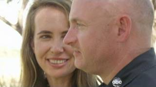 Congresswoman Gabrielle Giffords and Astronaut Mark Kelly 1/18/2011