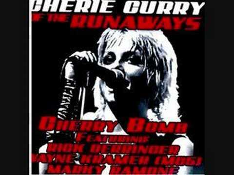 Cherie Currie, Wayne Kramer + Marky Ramone - Cherry Bomb