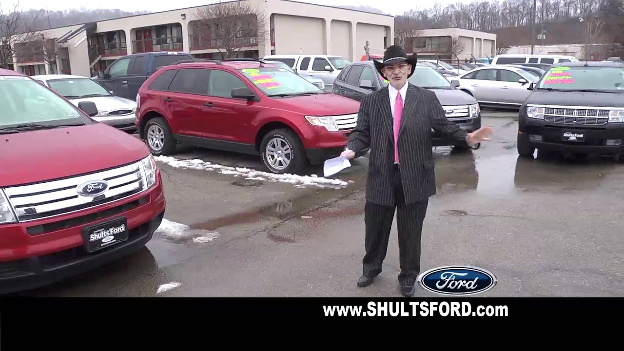Shults Ford Wexford >> Richard Bazzy' Shults Ford of Harmarville Ford Certified 2012 Specials - YouTube