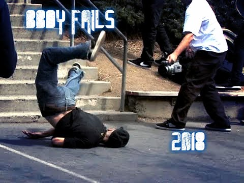 BBOY FAILS, FIGHTS AND FUNNY MOMENTS 2018.